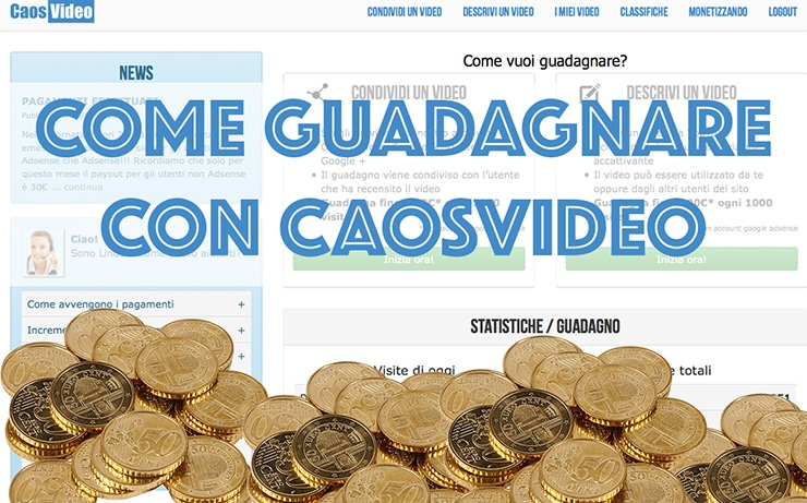 guadagnare con i video online