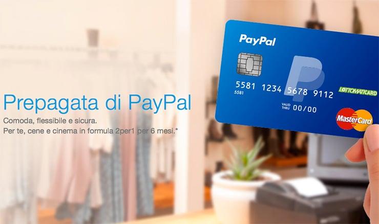 Come Richiedere Carta Prepagata Paypal?