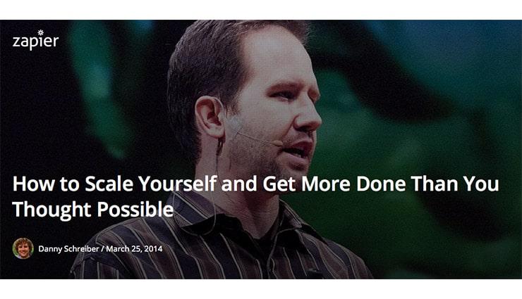 Come Scalare Te Stesso e Fare di Più di Quanto Fai Ora?