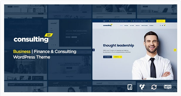 Consulting - Business, Finance, WordPress Theme