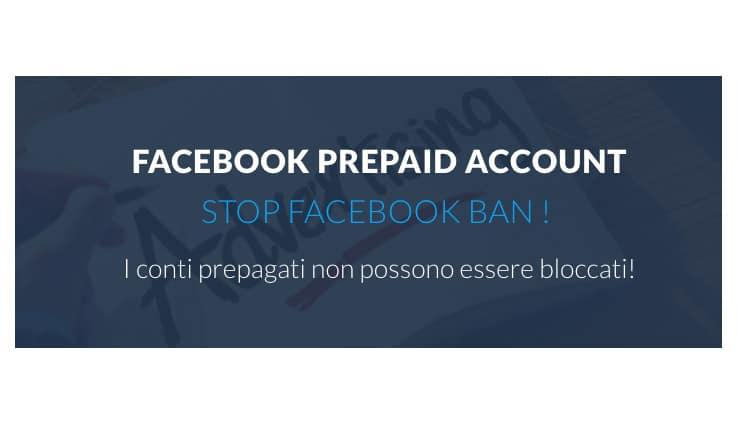 Conto Prepagato Facebook Ads: La Soluzione al Ban di Facebook?