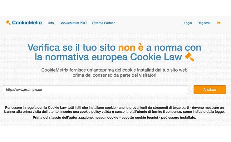 CookieMetrix.com: Strumento Per Verificare la Compliance ai Cookie dei Siti Web?