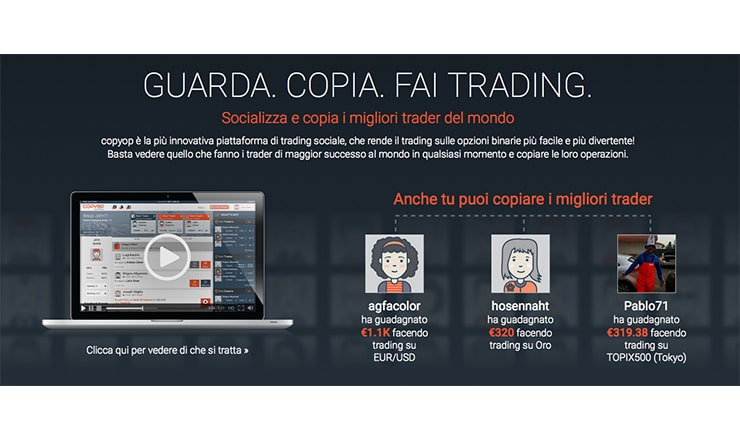 AnyOption Social Trading Opzioni Binarie: Copy Option?