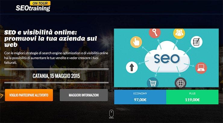 Corso SEO Catania 2015: 15 Maggio SEOTraining