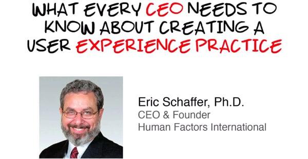 Cosa Dovrebbe Sapere Ogni CEO Sulla User Experience?