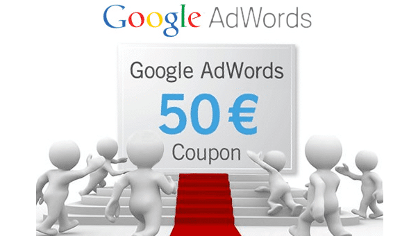 Coupon Google Adwords