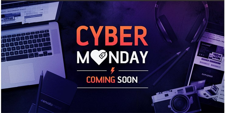 Cyber Monday: Sconti su Themeforest e Codecanyon