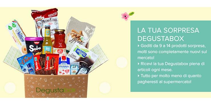 Degustabox: Scatola Sorpresa Alimentari: Codice Sconto e Come Funziona?