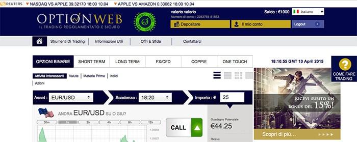 24 option online trading funziona di sabato