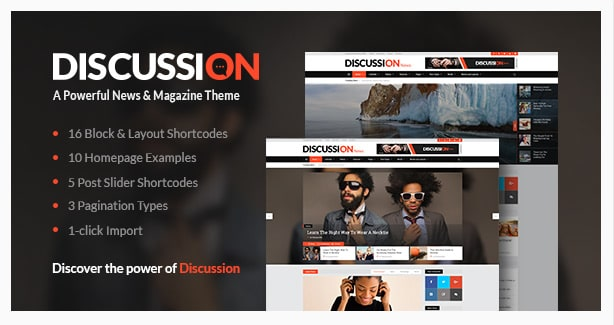 Discussion - A Powerful News & Magazine Theme
