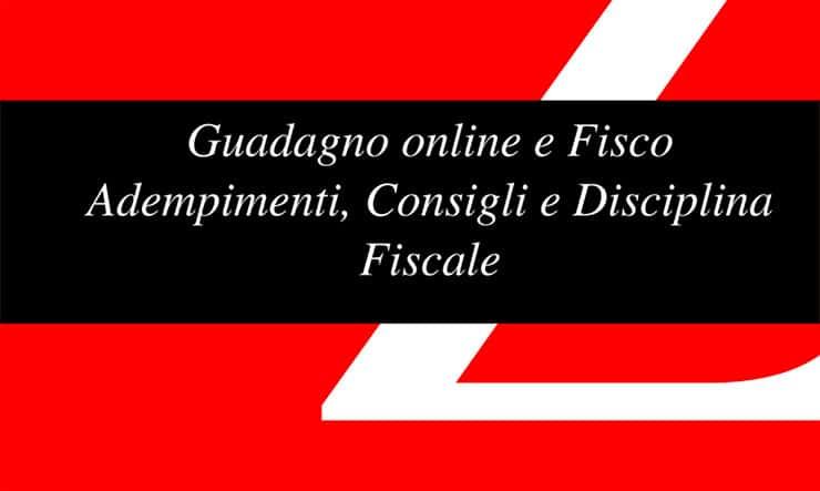 eBook Sul Fisco e Sul Guadagno Online: Vincenzo Romano