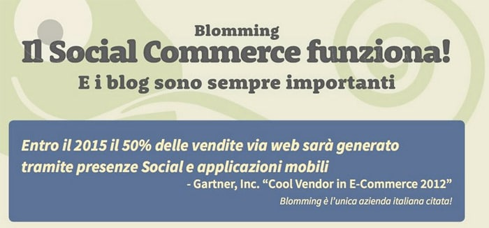 eCommerce e Social Network: Early Adopters in Italia?