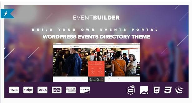 EventBuilder WordPress Event Directory Theme