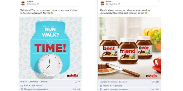 Facebook e il Crollo di Visibilità Post Pagine Fan: Case Study Nutella