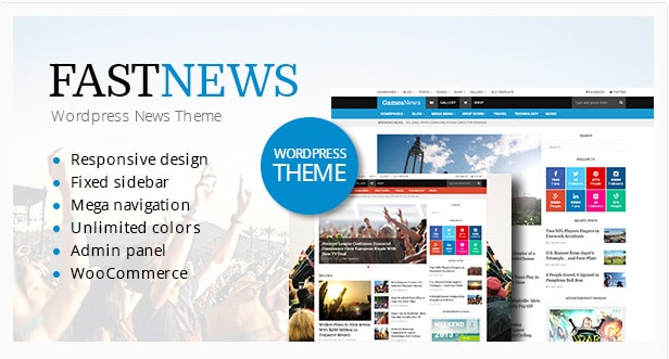 FastNews - Multipurpose Magazine Theme