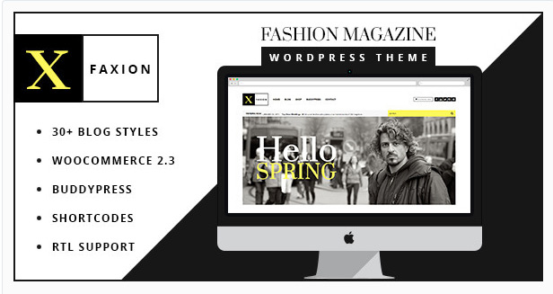 Faxion - Fashion Magazine Theme