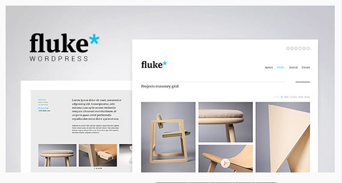 Fluke - Creative Portfolio WordPress Theme
