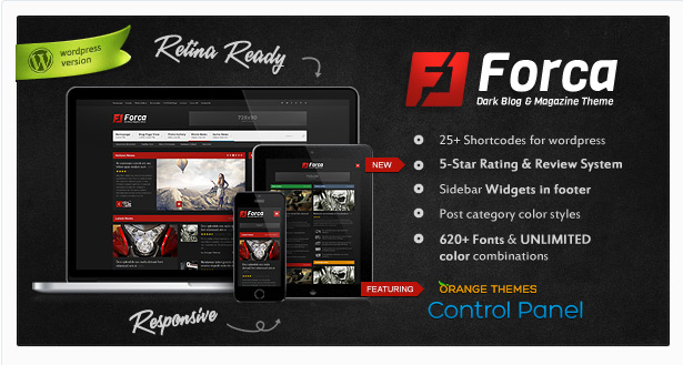 Forca Responsive News/Magazine Theme