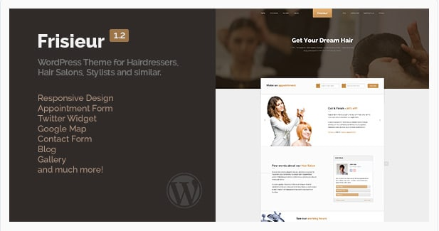 Frisieur - WordPress Theme for Hair salons