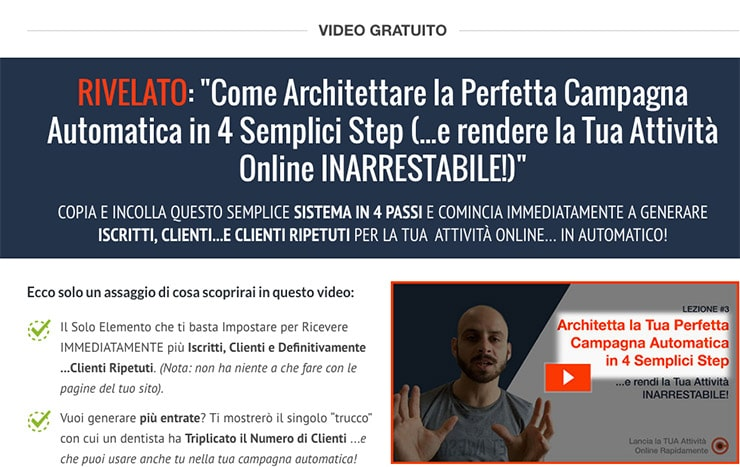 Come Generare Clienti in 4 Step? Giacomo Freddi