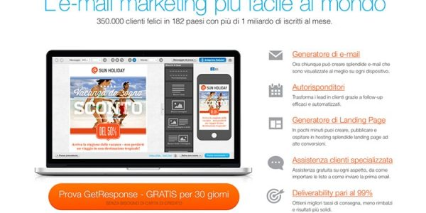 GetResponse: Come Creare (e Gestire) Una Newsletter?