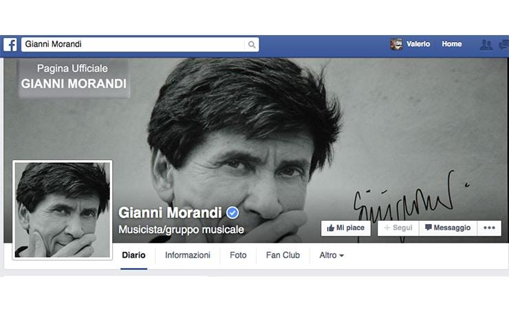Gianni Morandi Insegna ai Community Manager Social?