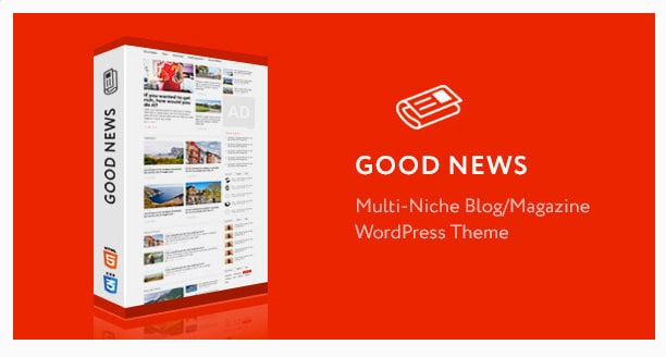 Good News Magazine WordPress Template