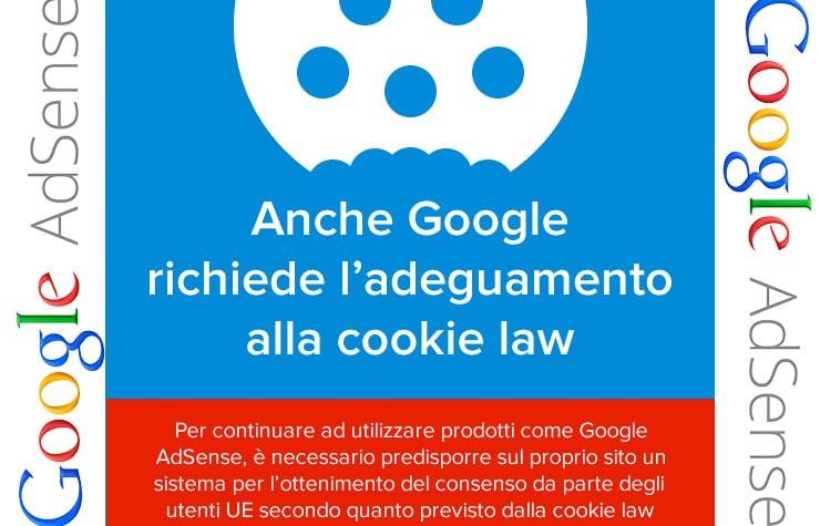 Banner Google AdSense e Cookie Law: Come Adeguare il Sito?