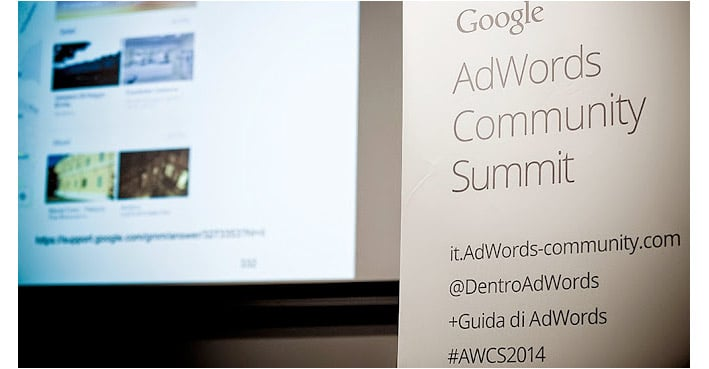 Google AdWords Community Summit 2014
