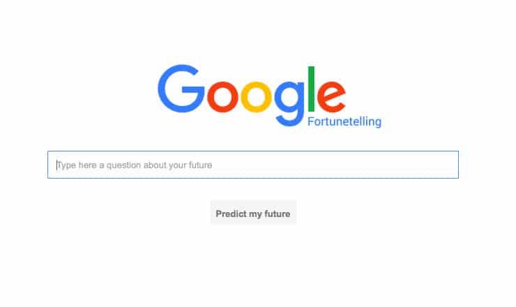 Google Predice il Futuro? Arriva Google Fortunetelling!