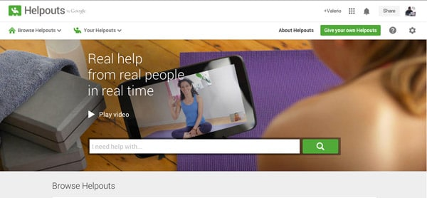 Google Helpouts: Offri o Ricevi Assistenza Online Gratis o a Pagamento