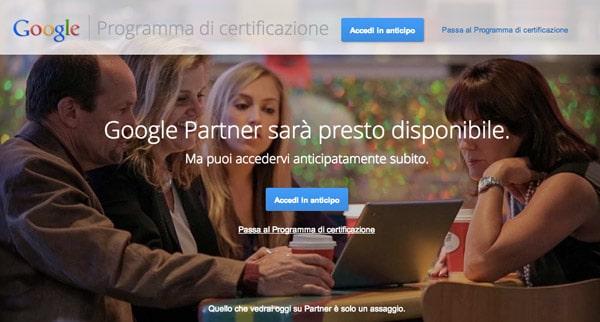Google Partner: Nuovo Modello di Certificazione per le Agenzie Web da Google?
