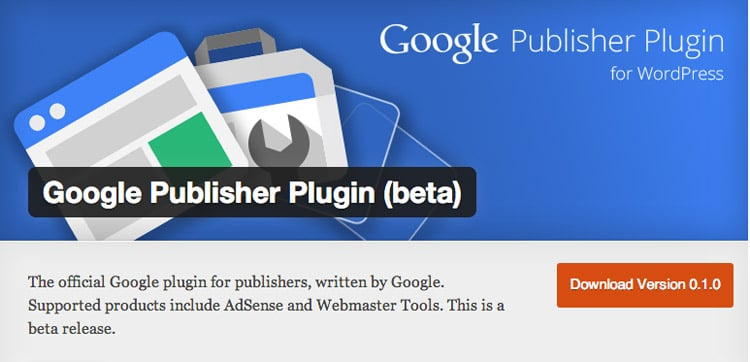 Google Publisher Plugin Per Wordpress