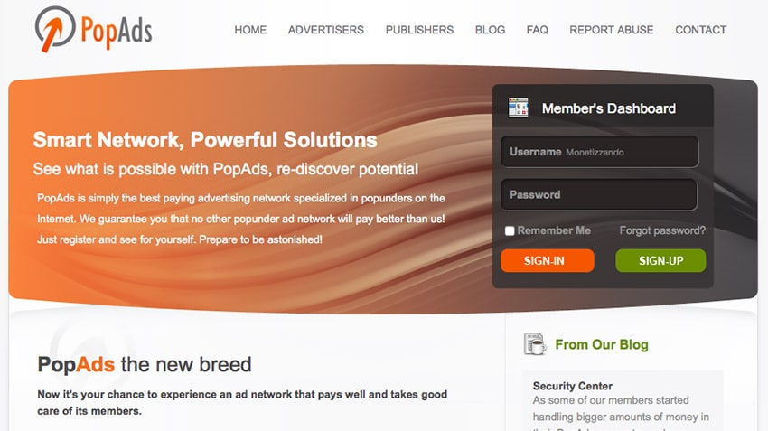 Guadagnare con popup popunder: PopAds alternativa AdSense