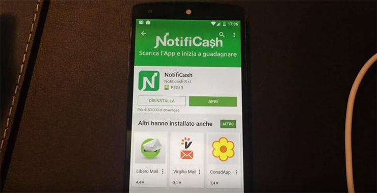 Notificash: Guadagnare con le notifiche sullo Smartphone?