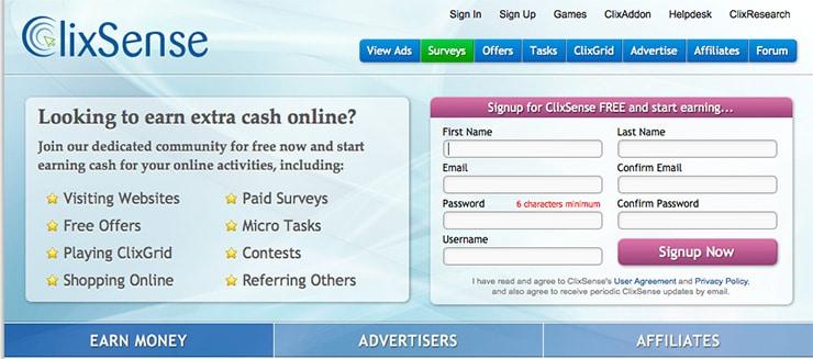 Guadagnare online con Clixsense: Come funziona?