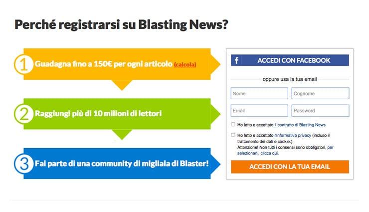 Guadagnare Online Con Blasting News (Scrivendo articoli)