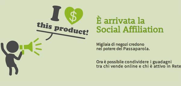 Guadagnare Online Con Blomming e la Social Affiliation?