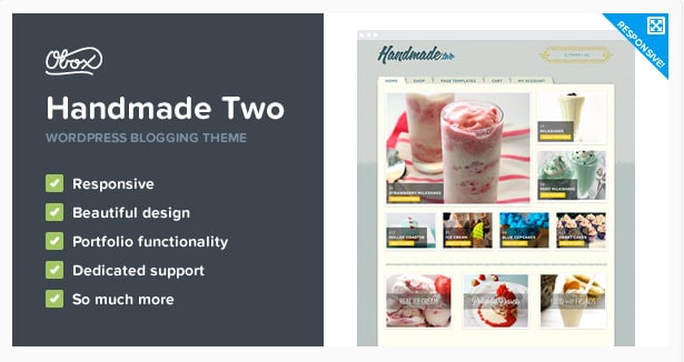 Handmade Two - eCommerce WordPress Theme