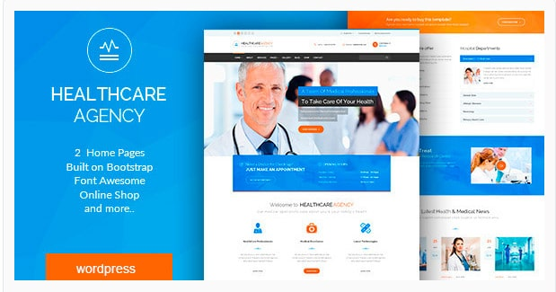 Healthcare Agency - Health & Medical WordPress