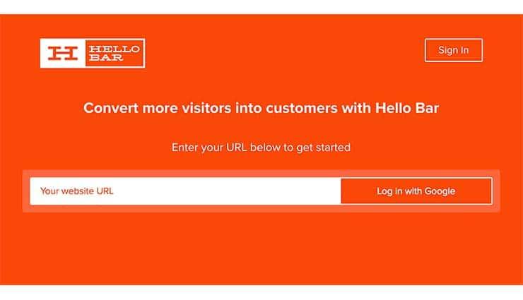 HelloBar: Il Plugin Per Convertire I Visitatori in Clienti?