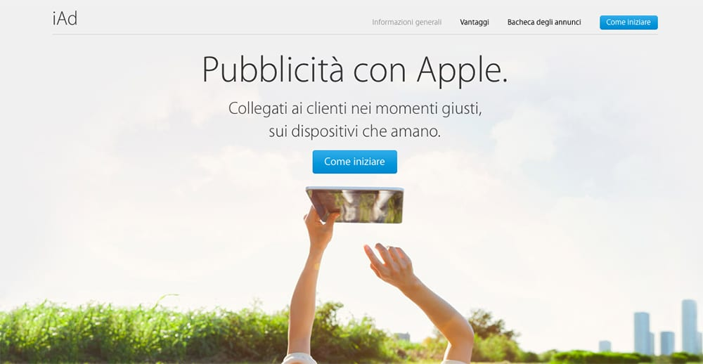 Apple strizza l'occhio al programmatic buying