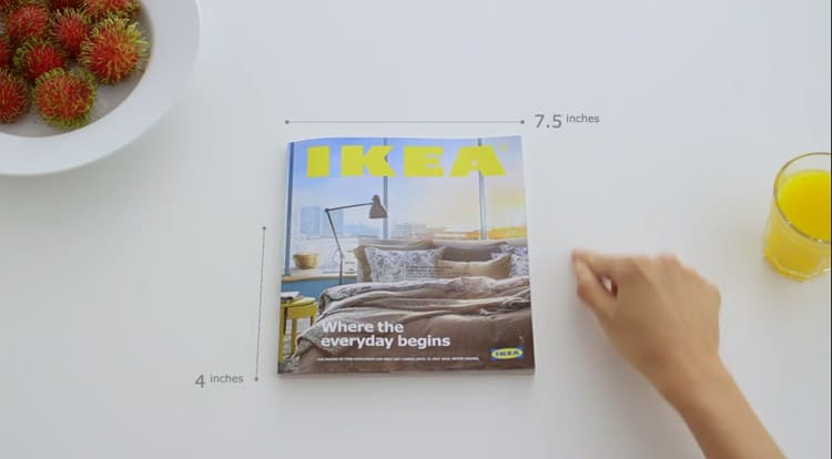 Marketing Ikea: Experience the power of a bookbook