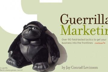 Quando nasce il Guerrilla Marketing?