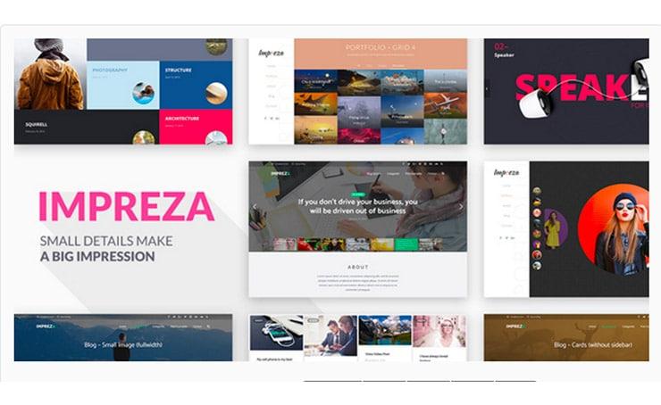 Impreza: Migliori Temi WordPress Multi Uso 2016 (Multipurpose)