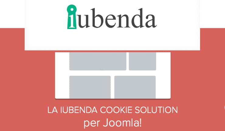 Plugin Joomla Per Integrare Privacy Policy e Cookie Law Iubenda