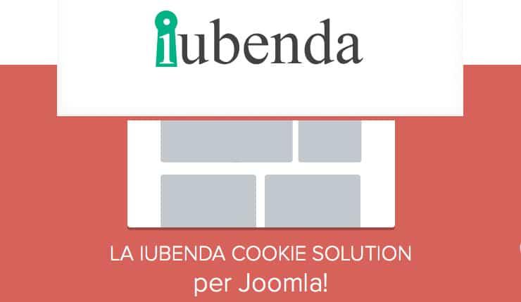 Plugin Joomla Per Integrare Privacy Policy e Cookie Law Iubenda