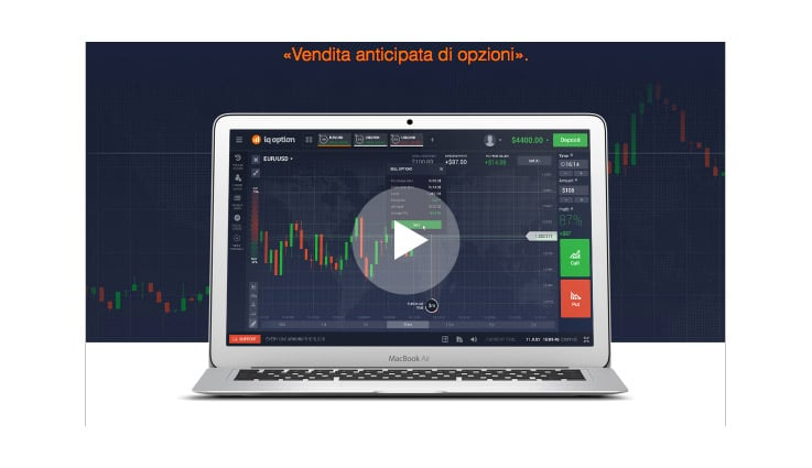 IQ Option Introduce La Vendita di Opzioni Anticipata?