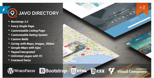 Javo Directory WordPress