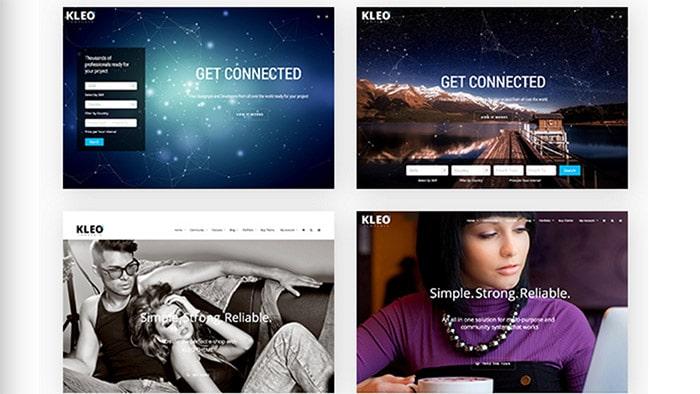 Kleo – Template WordPress Community MultiPurpose